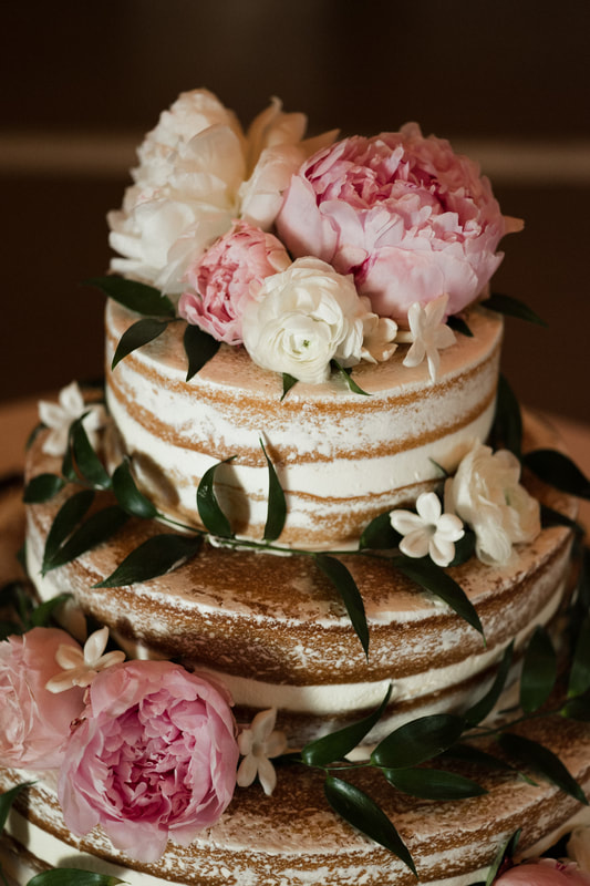 Naked Wedding Cake Detailed Engagements Fireside Catering Crane Estate